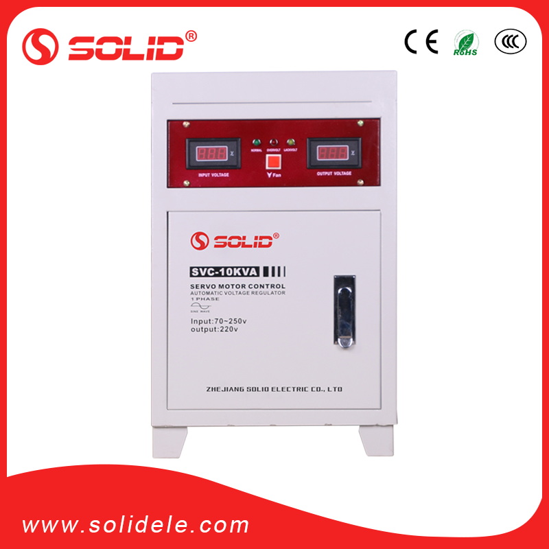 Solid electric 70V 10kva avr stabilizator for home