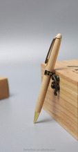 wooden ball point pen with metal part set packing in wooden box for <strong>promotional</strong>
