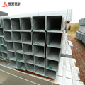 gi square pipe ms square tube price galvanized structure steel pipe for building