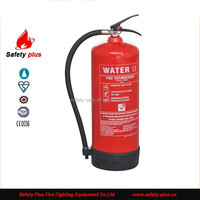 CE/EN3 Approved light 9L Water type Fire Extinguisher