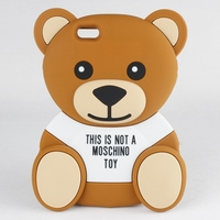 Teddy Bear animal silicone phone case 3d cartoon for iPhone 6s