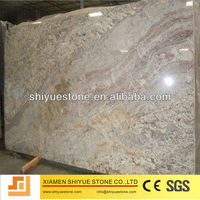polished white spring granite