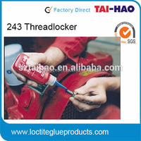 china high strength anaerobic threadlocker adheive sealant/glue/ Contact Cement/Binder/Agent/Sealer Sealing and Locking 243