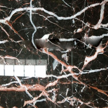 gold coral marble business building black floor tiles,stair slate