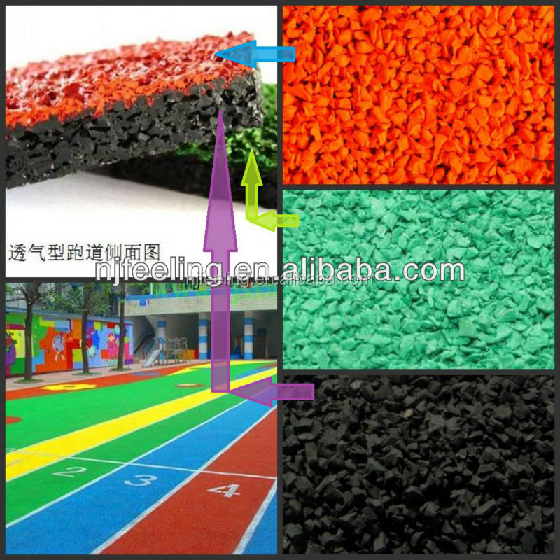 residential playground surface,tennis court epdm rubber granules. kindergarten playground, turf, rubber and plastic FN-140187406