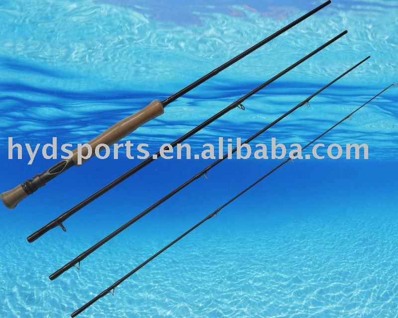 HLFY-0015 carbon double hand switch fly fishing rod