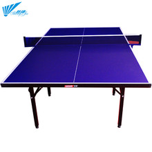 Foldable&movable ping pong dimensions standard size modern tennis folding training table