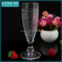 LXHY-G028-2 wedding decor vintage thick stem goblet wine glass