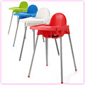 simple model plastic baby high chair, Dinner Chair Set eco-friendly plastic