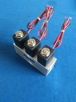 Made in China 2 way high pressure 0.05-16 bar 3 manifold air solenoid valve