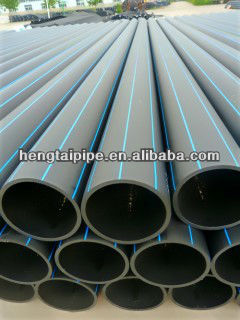 HDPE PE 100 pipe for water treatment (water supply,landscaping,irrigation,drainage)