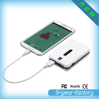 Best gift 7800mah handy power charger for mobile phone