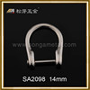 Manufacturer D Ring Bulkle Hardware, Zinc Alloy Gold Custom Bags Metal D Ring Metal Buckle