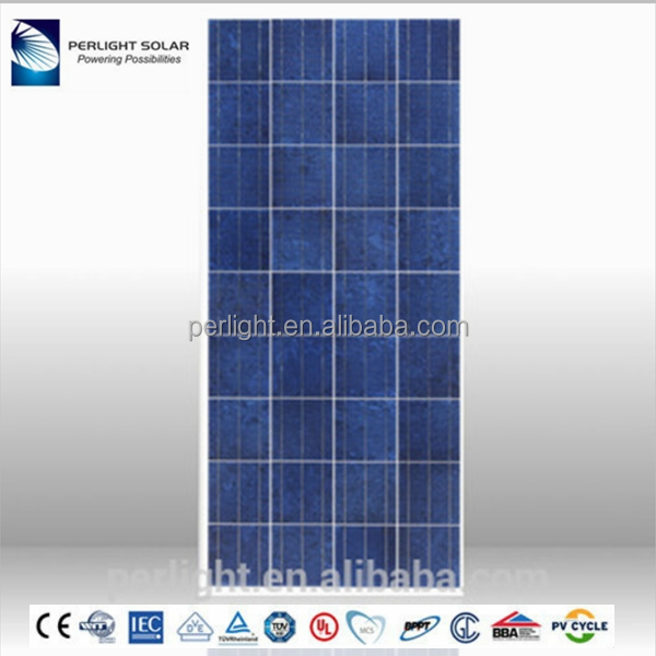solar panel 150W solar panel price poly monocrystalline solar panel price india