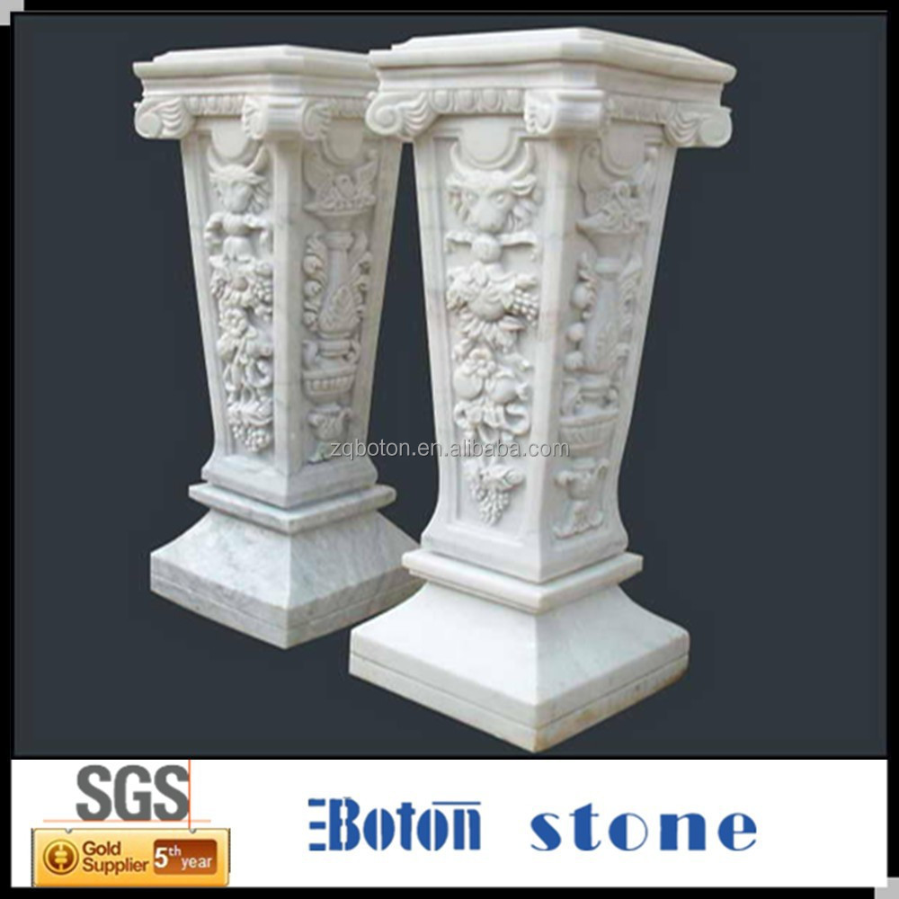 List manufacturers of fiberglass columns for wedding for Decorative fiberglass columns