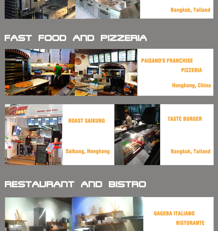 Professional CE SASO Approved Commercial Kitchen