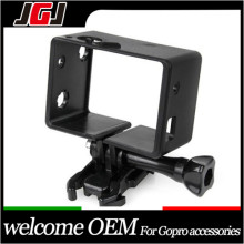 JGJ Frame for Go pro Hero3+/3 for gopro accessories with Assorted Mounting Hardware for go pro for BacPac