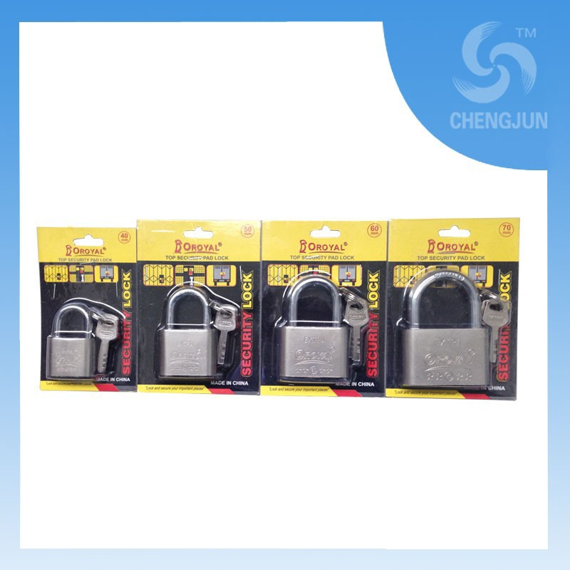 Different size cheap cute padlock small padlock big padlock