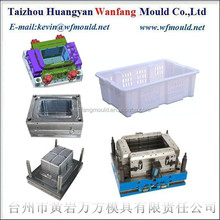 China plastic bread crate injection mould&plastic injection bread crates mold maker