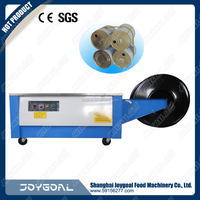 Manual Control Box Batch Packing and Strapping Machine with Best Price Semi Automatic Carton Box Packing Strapping Machine