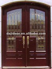 Art Glass Restaurant Entrance Doors Design DJ-S9903MA