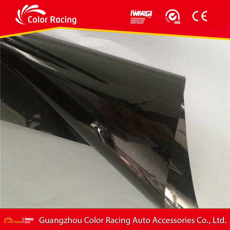 self adhesive blockout reflective auto tinting glass mirror pet car scratch remover in glass film