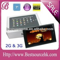 "New! 7""inch MID Google Android 2.3/4.0 5 point touch screen Tablet PC 3G WiFi 512MB DDR3 4Gb"