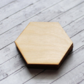 Laser Cut Coasters Personalised Geometric wood coasters