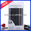 New products aluminum wireless bluetooth keyboard for iPad air