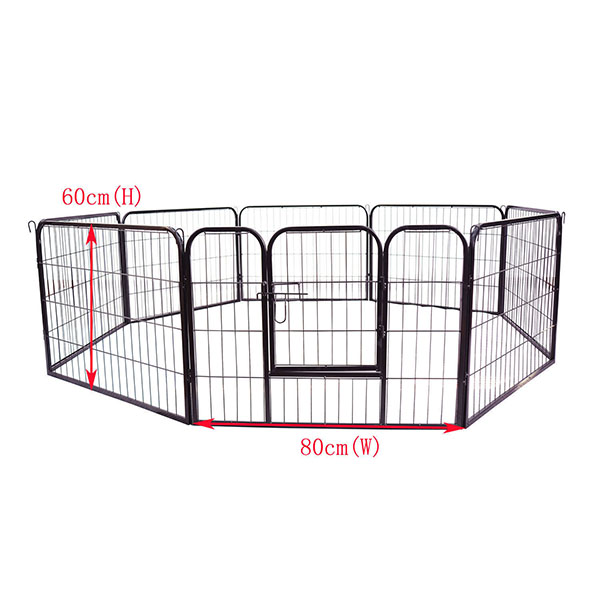 Heavy Duty Pet Dog Barrier Fence Exercise Metal Play Pen