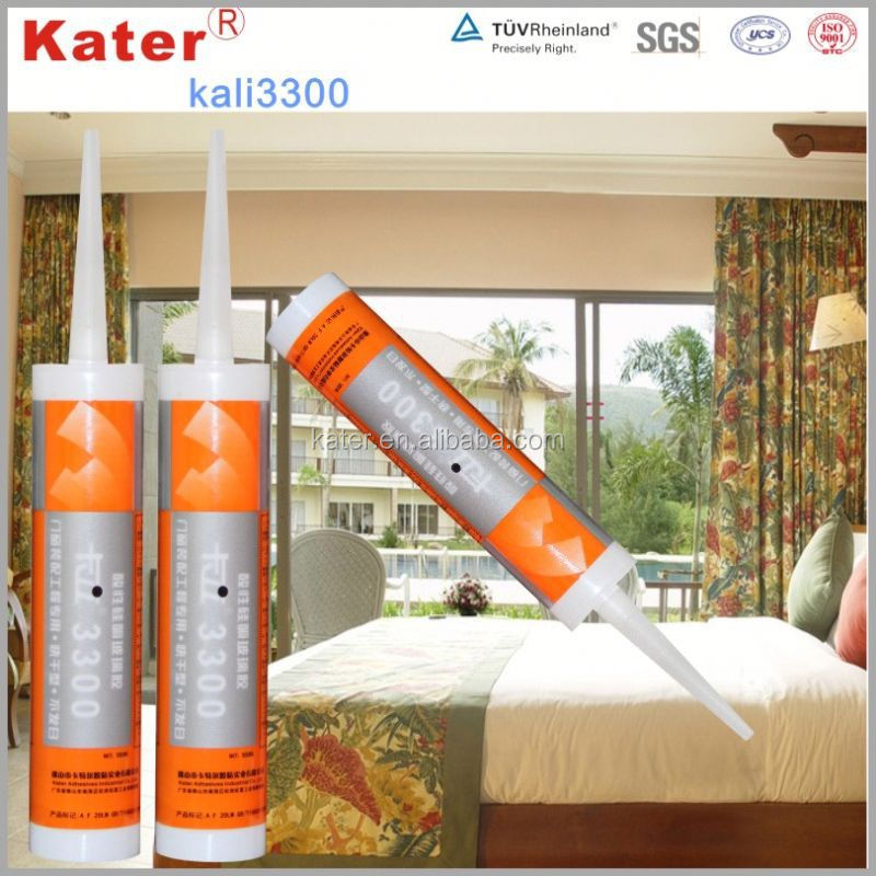 China supplier good quality waterproof adhesive silicone sealant
