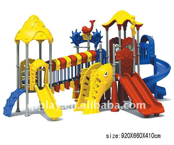 Outdoor Playground Components/Plastic Outdoor Padding For Playgrounds/New Style Outdoor Padding For Playground