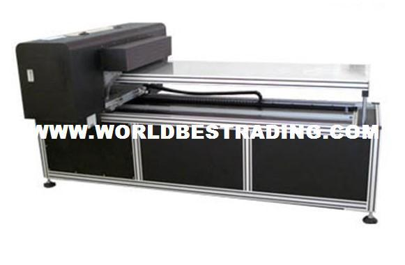 Directly Printing Machine--WorldBest A1 Size 8 Color Advanced Flatbed Printer Multifunction Digital Printer-Best Printer