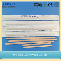 150X18X1.7mm or client requirement best sale wooden coffee sticks stirrers