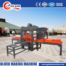 QT3-20 portable concrete Brick Molding Machine Processing and Vacuum Extruder Method used concrete block making machine for sale