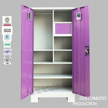 Colorful office furniture otobi furniture in bangladesh price steel filing cabinet quilt storage cabinet