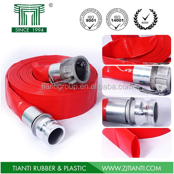Thailand 1-6inch irrigation discharge pvc hose