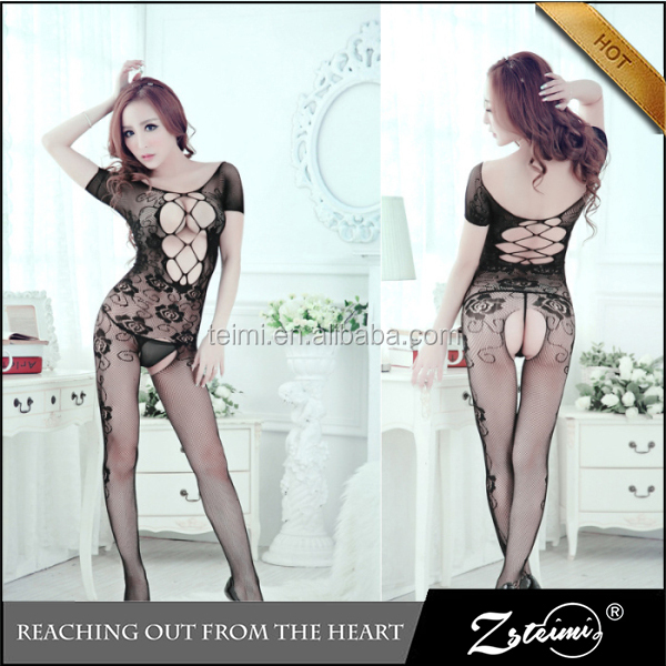 Attractive Women Sexy Full Body Stocking Sexy Japanese Cute Girl Lingerie