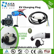 Dostar supplying J1772 Type 1 to IEC 62196 Type 2 EV charge plug/j1772 type1 to 62196 type2 EV charging cable