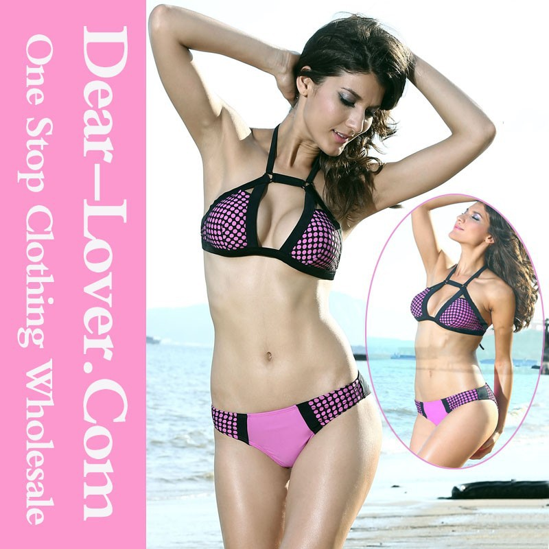 Hot Sale Wholesale olka Dot Bikini Swimsuit www sex com