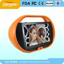 9 Inch Portable DVD Player With TV Tuner And Radio