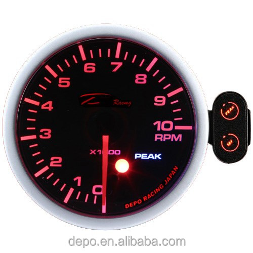 electric 60mm Stepper Motor Racing Tachometer (Auto Gauge)