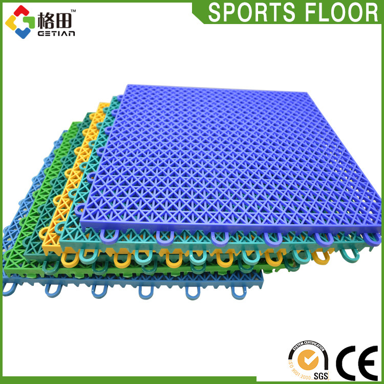 Modified PP stadium running track flooring