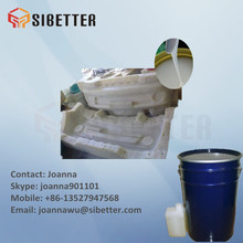 Casting Plaster Gypsum Mold Making Liquid Silicone Rubber, Free Sample