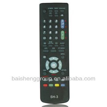 DVD &TV remote control &TV and DVD RC