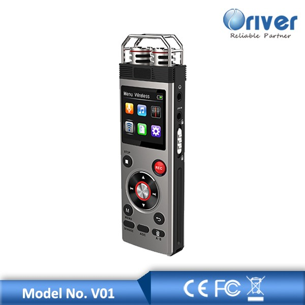 50 Metres long distance micro hidden voice recorder with wireless microphone
