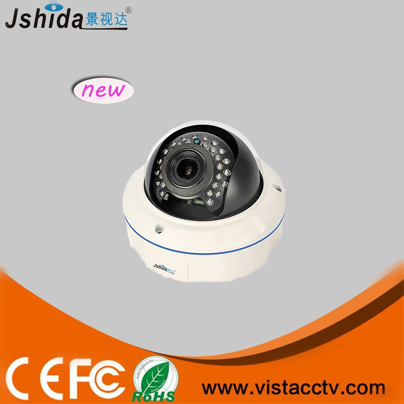 Low cost 3 MP 1.3 Megapixel IP Kamera/P2P IP camera with 2.8-12mm varifocal lens