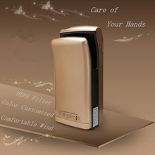 Color Customized Yes Sensor and GS,CE,RoHS,CB Certification Infrared Sensor Hand Dryer