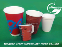 custom logo printed disposable high quality paper plates and cups, party sets