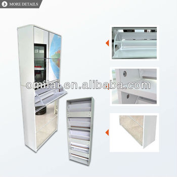 Mirror shoe storage cabinet shoe rack designs wood